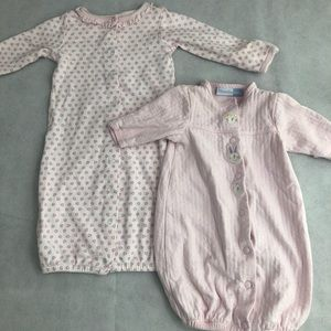 2 Piece Baby Sleep Sacks. 0-3 Months